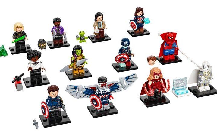 Lego Juego Completo de 12 minifiguras de Wandavision, Loki, Falcon y El Soldado de Invierno y What If 2