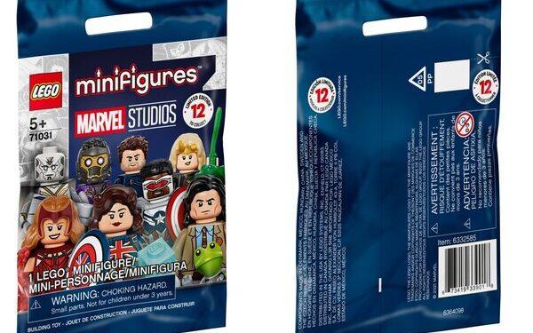 Lego Juego Completo de 12 minifiguras de Wandavision, Loki, Falcon y El Soldado de Invierno y What If 4