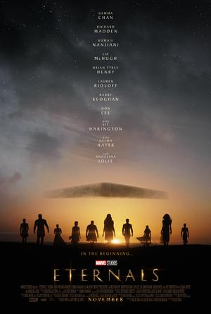Poster Oficial 1 de Eternals