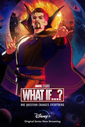Poster de What if... Que hubiera pasado si... Personaje Doctor Strange Supreme
