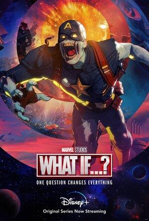 Poster de What if... Que hubiera pasado si... Personaje Zombie Capitan America