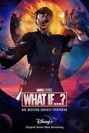 Poster de What if... Que hubiera pasado si... Personaje Zombie Doctor Strange