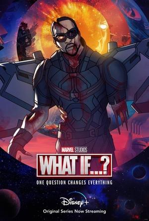 Poster de What if... Que hubiera pasado si... Personaje Zombie Falcon