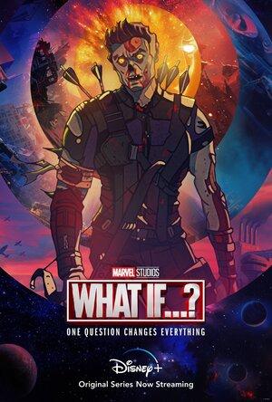 Poster de What if... Que hubiera pasado si... Personaje Zombie Hawkeye