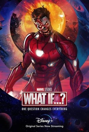 Poster de What if... Que hubiera pasado si... Personaje Zombie Ironman