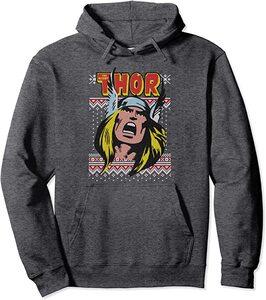 Ropa de Marvel Serie Navidad Thor Retro Comic