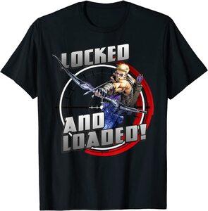 Camiseta Hawkeye Ojo de Halcón Comic Retro Disparando Objetivo