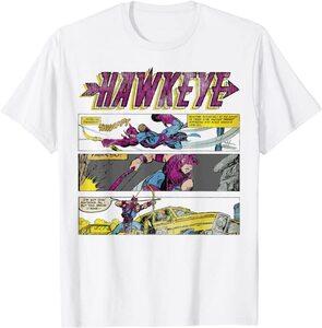 Camiseta Hawkeye Ojo de Halcón Comic Retro Vintage Paneles