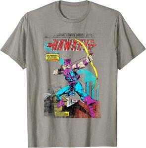 Camiseta Hawkeye Ojo de Halcón Comic Retro Vintage Portada