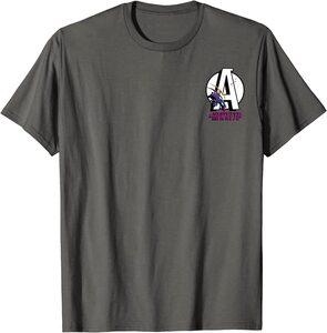 Camiseta Hawkeye Ojo de Halcón Logo Clásico Avengers y Hawkeye Vintage