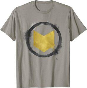 Camiseta Hawkeye Ojo de Halcón Logo Pintado con Spray