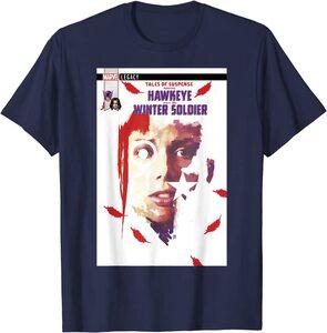 Camiseta Hawkeye Ojo de Halcón Portada Comic Hawkeye y Soldado de Invierno