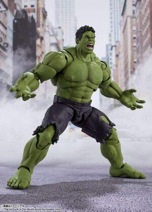 Figura Bandai Tamashii Nations Hulk La Batalla de Nueva York de Vengadores