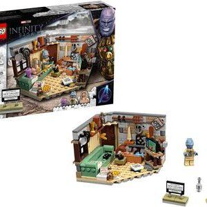 Lego Vengadores Endgame Nuevo Asgard Thor y sus colegas con Bro Thor, Korg yMiek